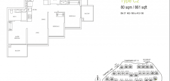 treasures-ats-tampines-floor-plan-3-bedroom-type-c2-singapore