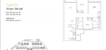 treasures-ats-tampines-floor-plan-3-bedroom-type-c3-singapore