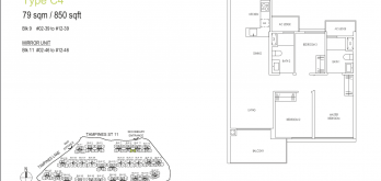 treasures-ats-tampines-floor-plan-3-bedroom-type-c4-singapore