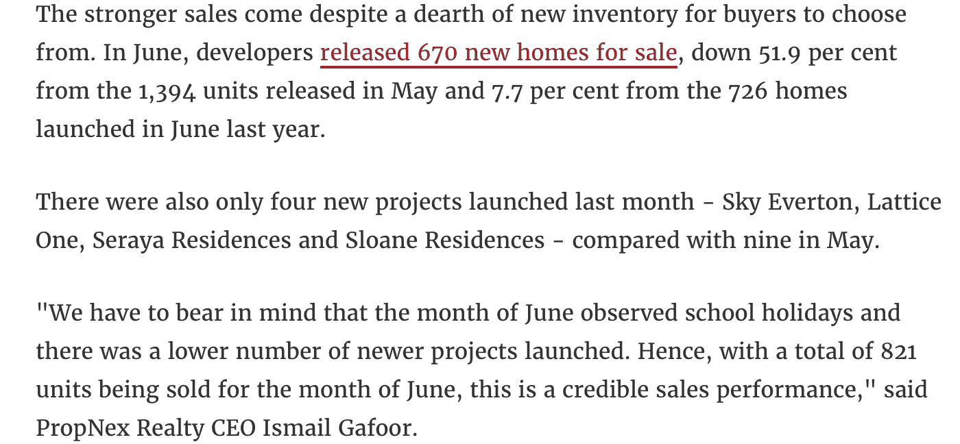 news - new private home highest june sale in 6 years - 5