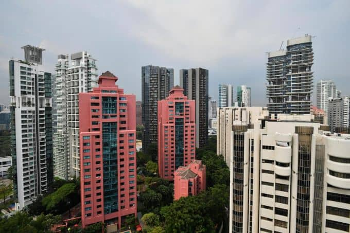 News - Singapore Private Home Prices Up